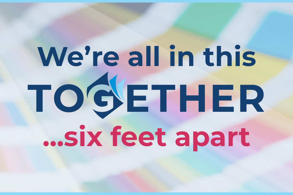 Gamse - We're all in this together... six feet apart